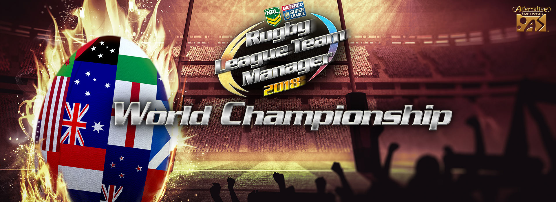 Rugby League Team Manager 2018 World Championship